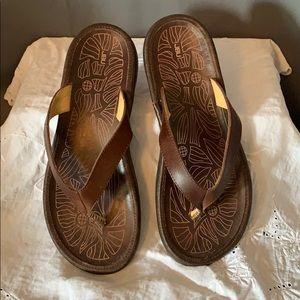 Jambu Shoes - Jambu Leather Thong Flip Flops